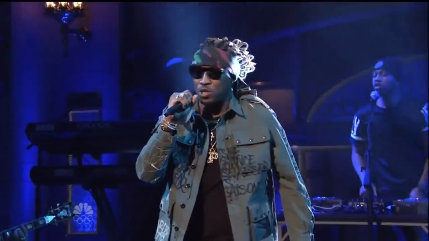 Future Performs 'March Madness' on SNL