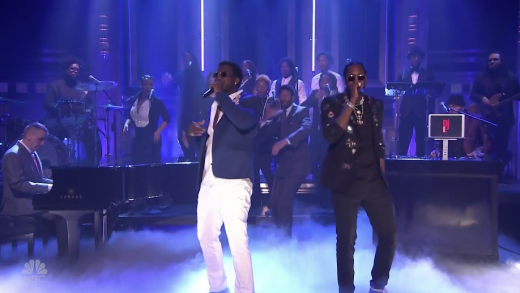 "d84a8a5b673c 2 Chainz Performs ""Good Drank"" with Gucci Mane on The Tonight Show"