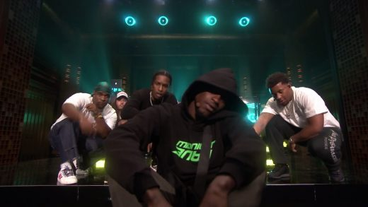 A$AP Mob Feels So Good Live on The Tonight Show