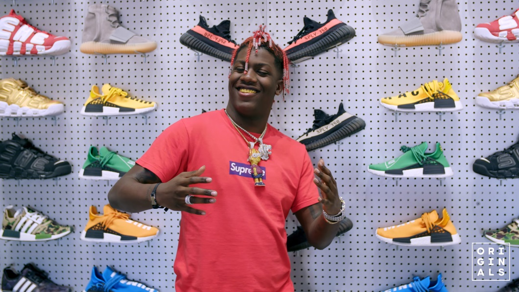 Lil Yachty Goes Sneaker Shopping With