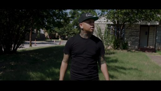 Yella Beezy Visits Home Where Father Was Murdered